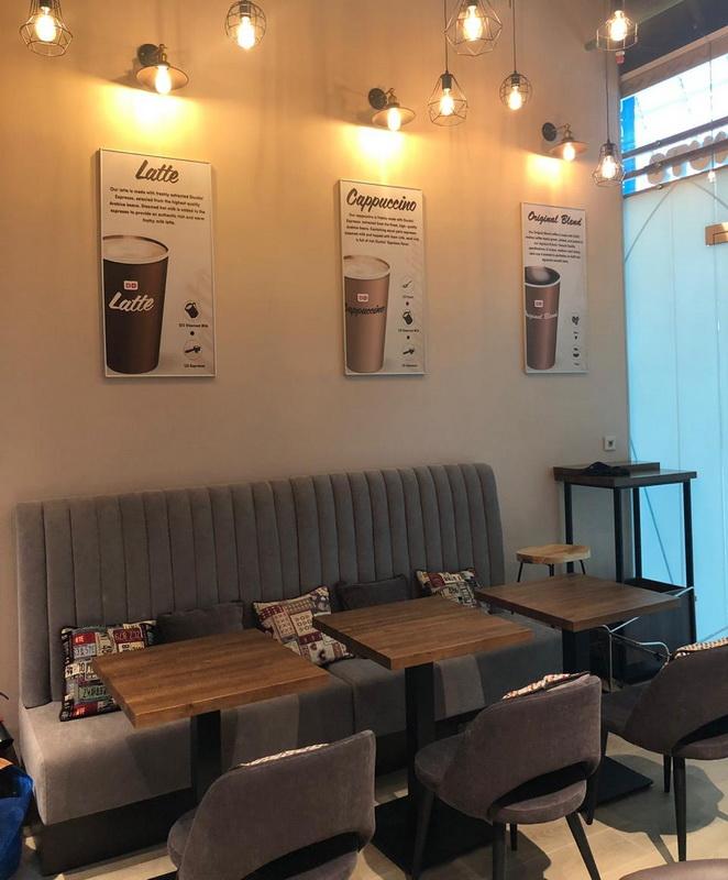 Кофейня в крупном БЦ (франшиза)
